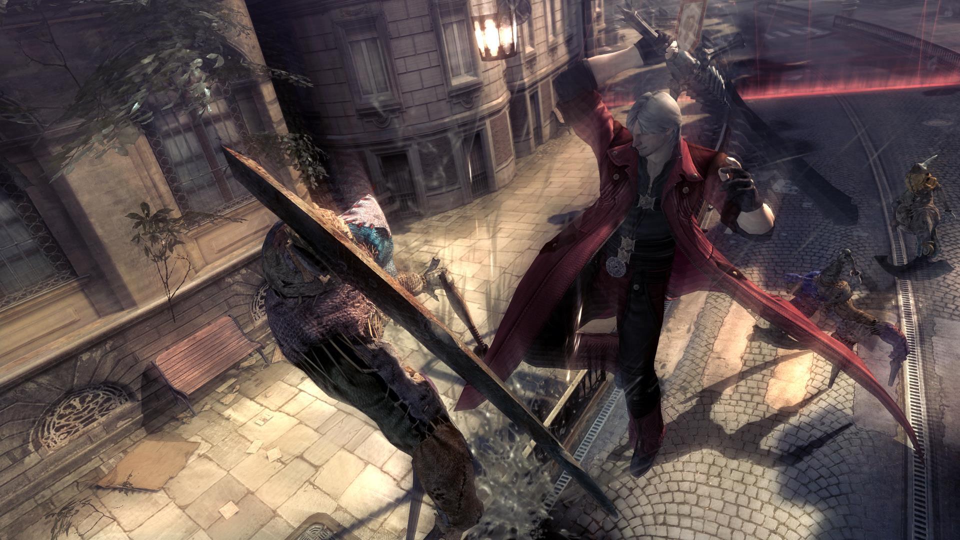 Přehlídka nových hratelných postav v Devil May Cry 4: Special Edition 108242