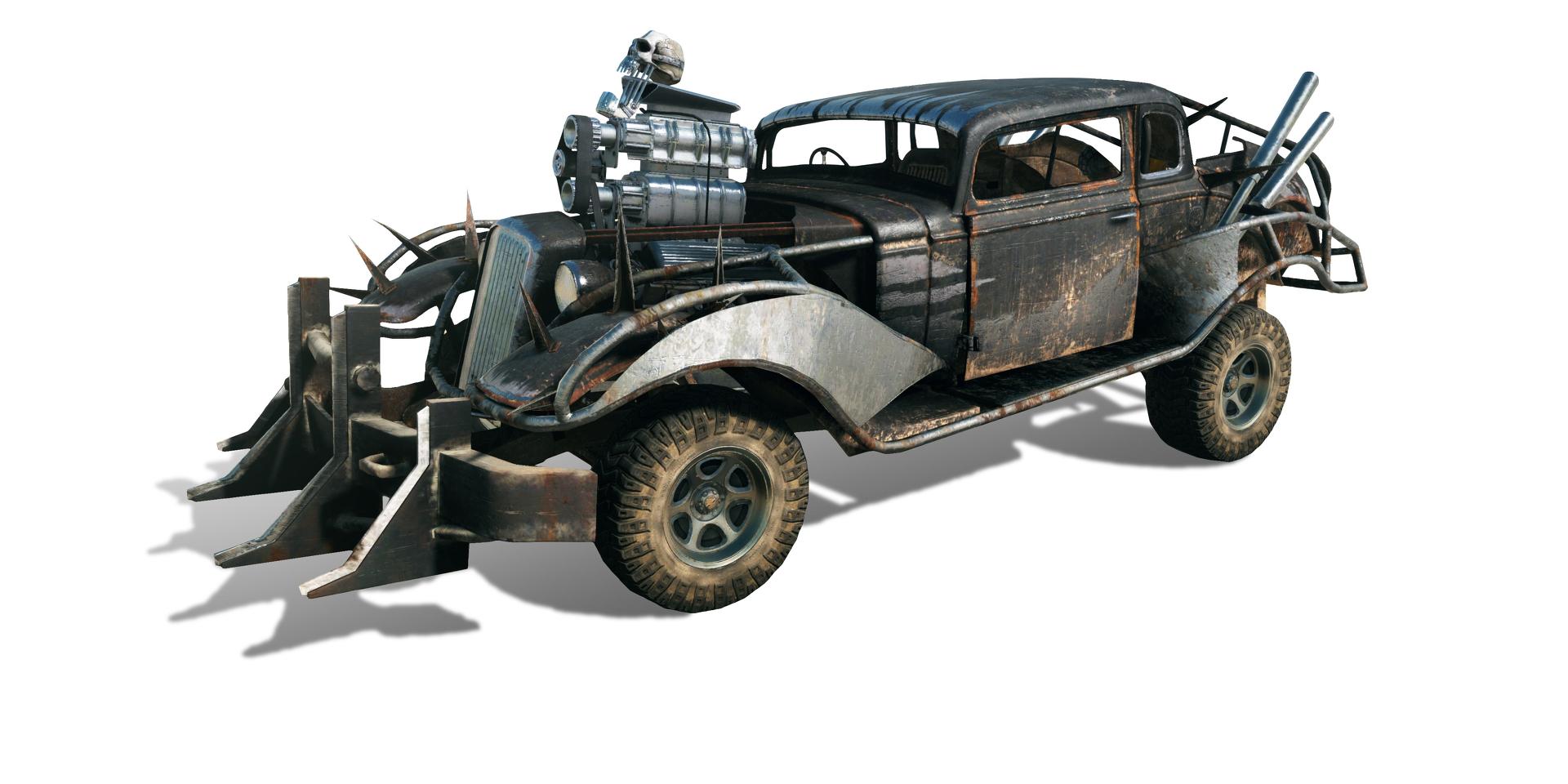 Obrazem: Post-apokalyptická pustina z akce Mad Max 108267