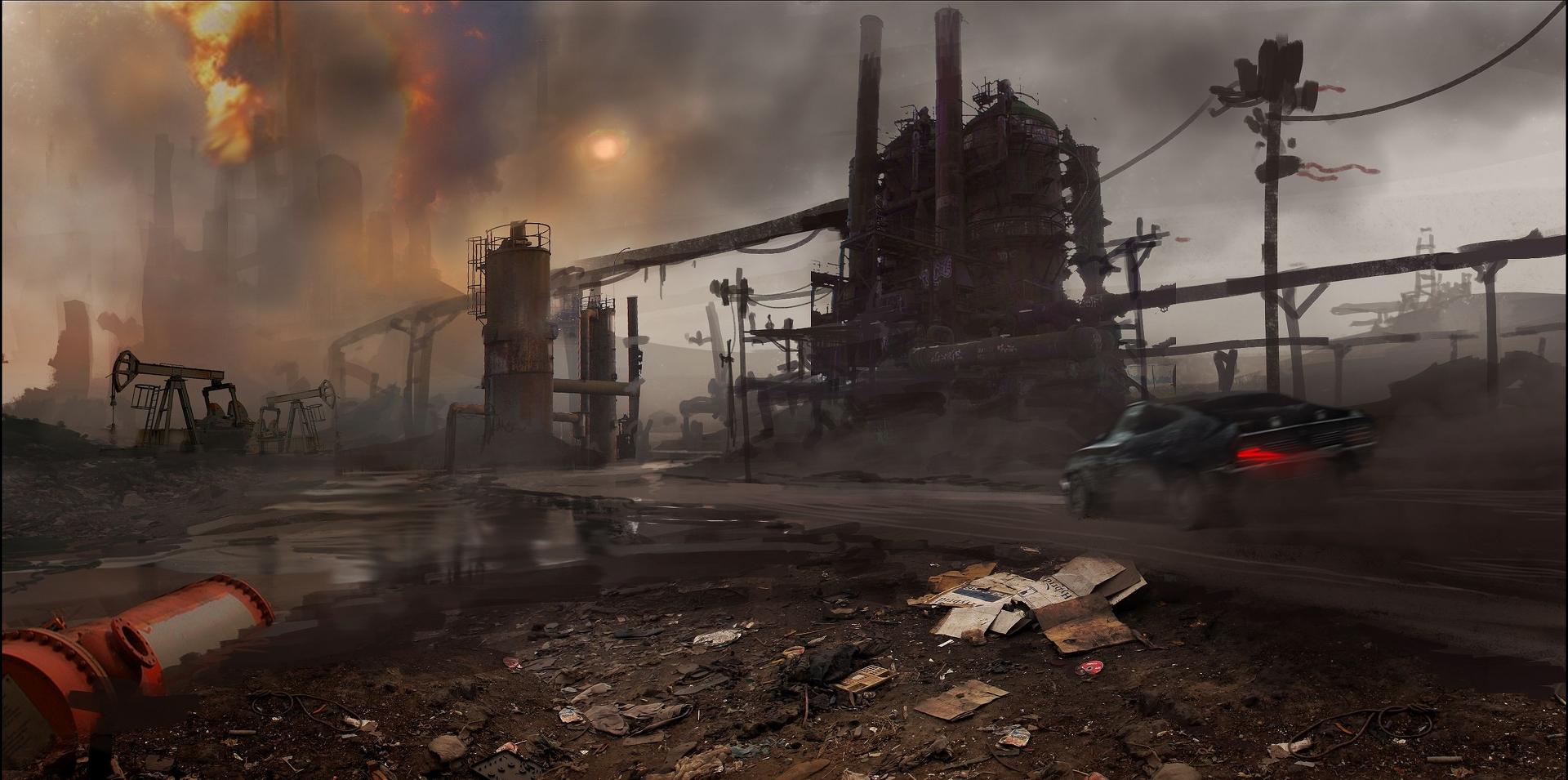 Obrazem: Post-apokalyptická pustina z akce Mad Max 108270