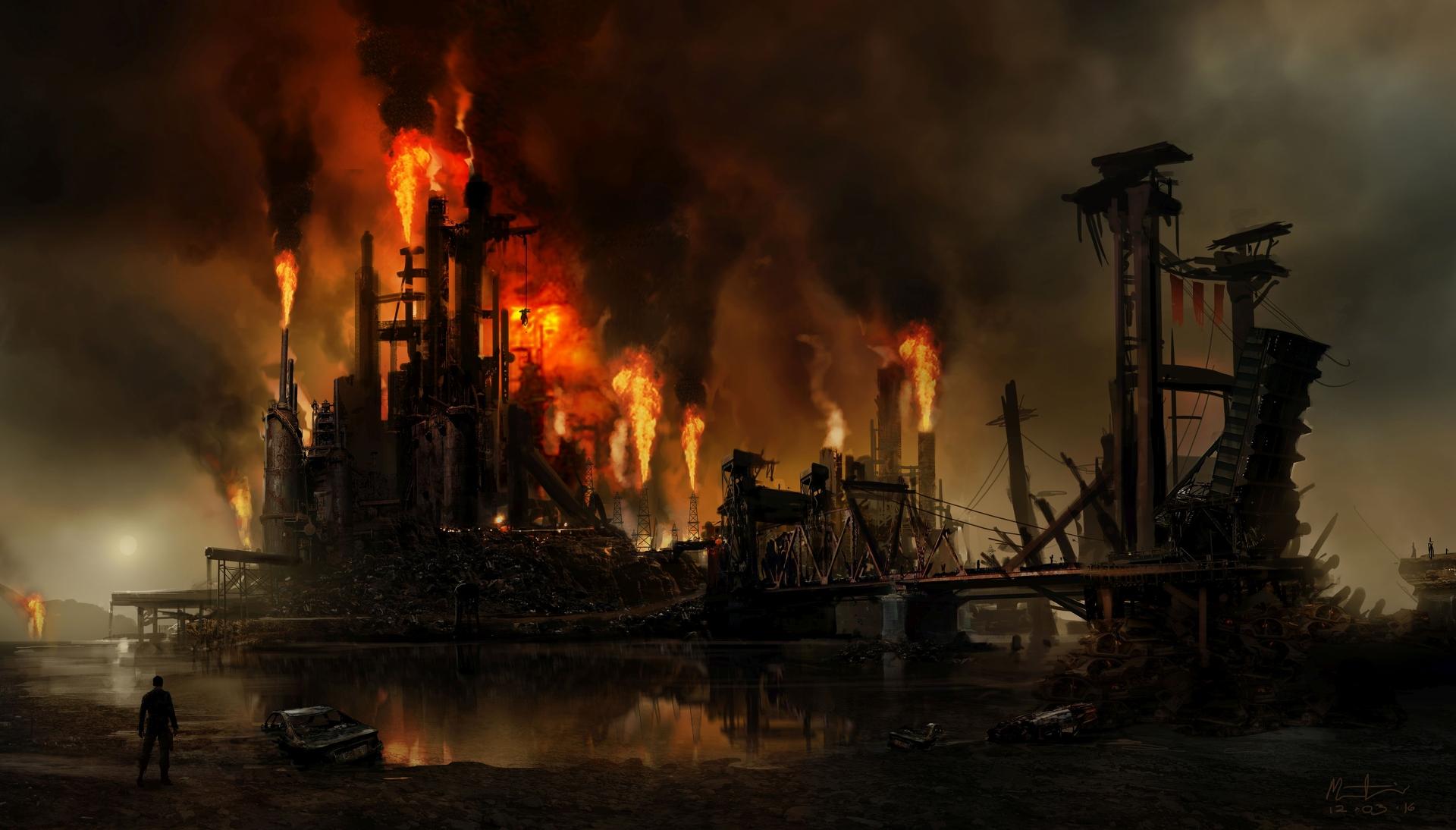 Obrazem: Post-apokalyptická pustina z akce Mad Max 108271