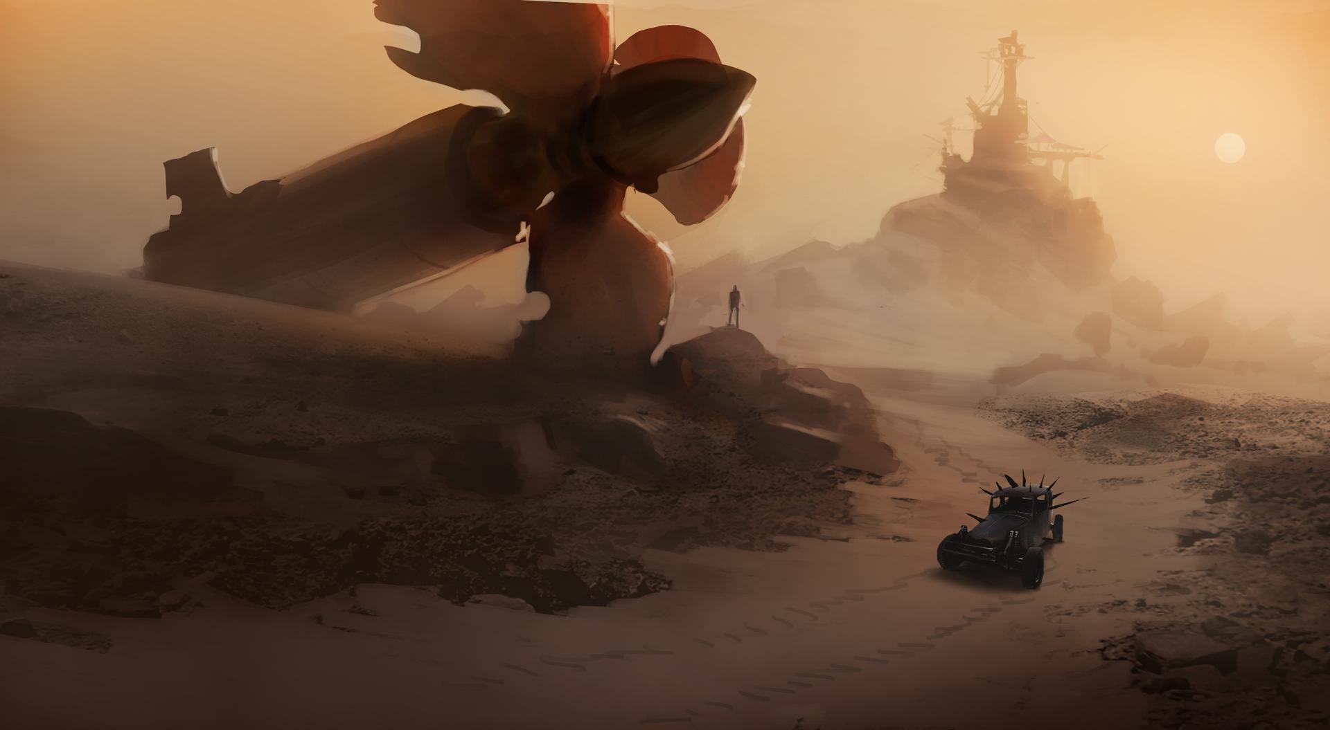 Obrazem: Post-apokalyptická pustina z akce Mad Max 108272