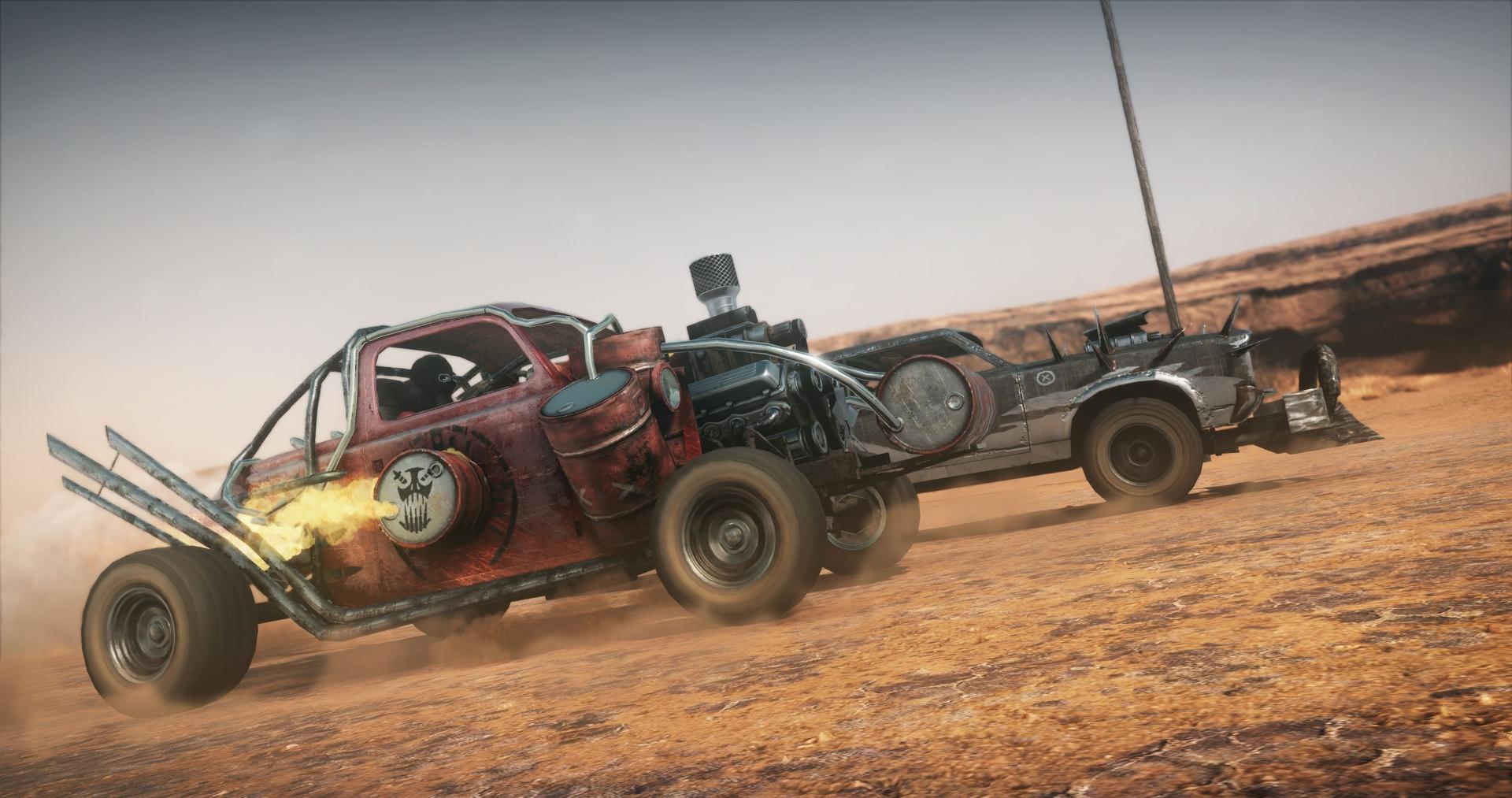 Obrazem: Post-apokalyptická pustina z akce Mad Max 108274