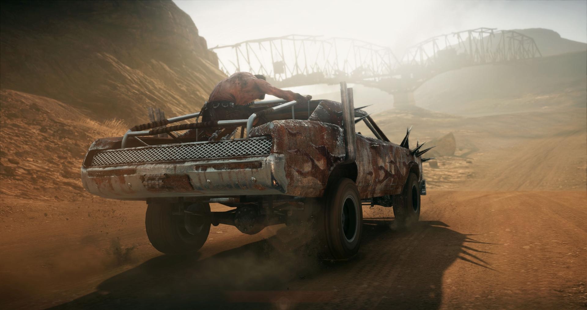 Obrazem: Post-apokalyptická pustina z akce Mad Max 108275