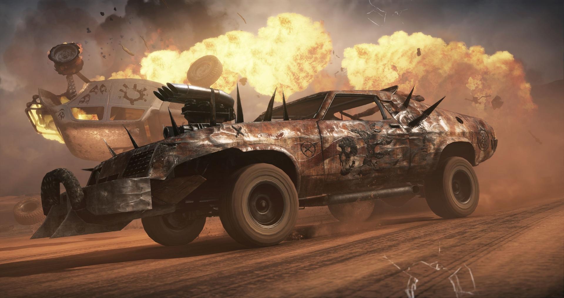 Obrazem: Post-apokalyptická pustina z akce Mad Max 108277
