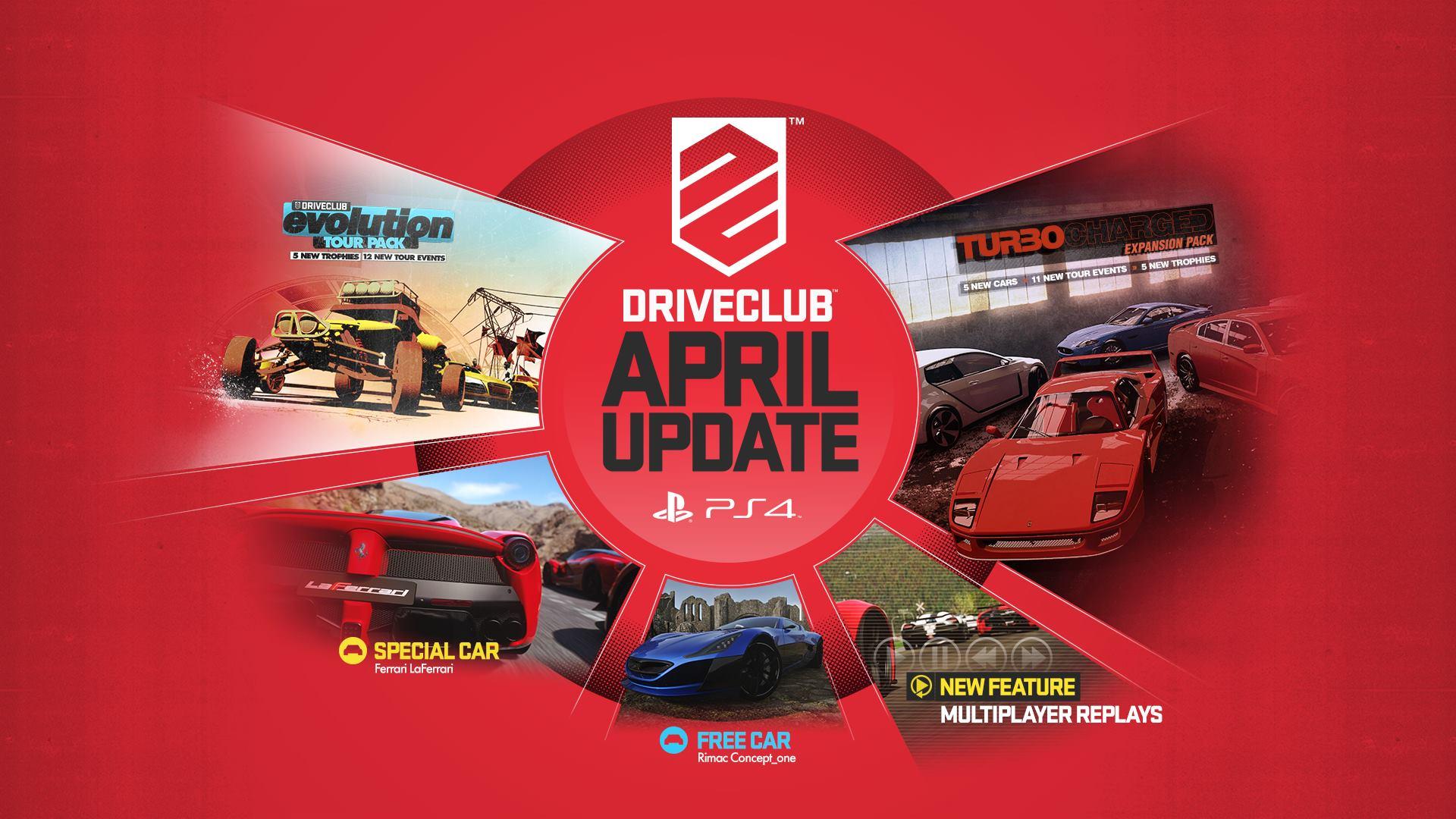 DriveClub rozšířil bezplatný update o LaFerrari a 11 eventů 108278