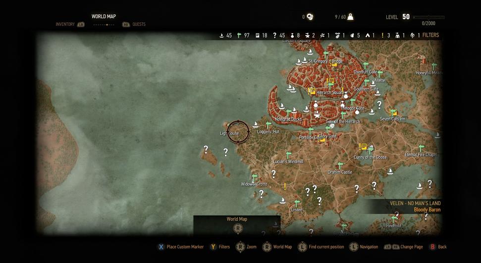 Konečně odhalena mapa Zaklínače 3 108323