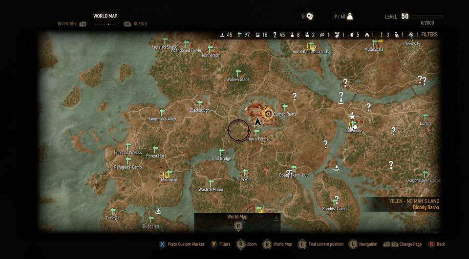 Konečně odhalena mapa Zaklínače 3 108324