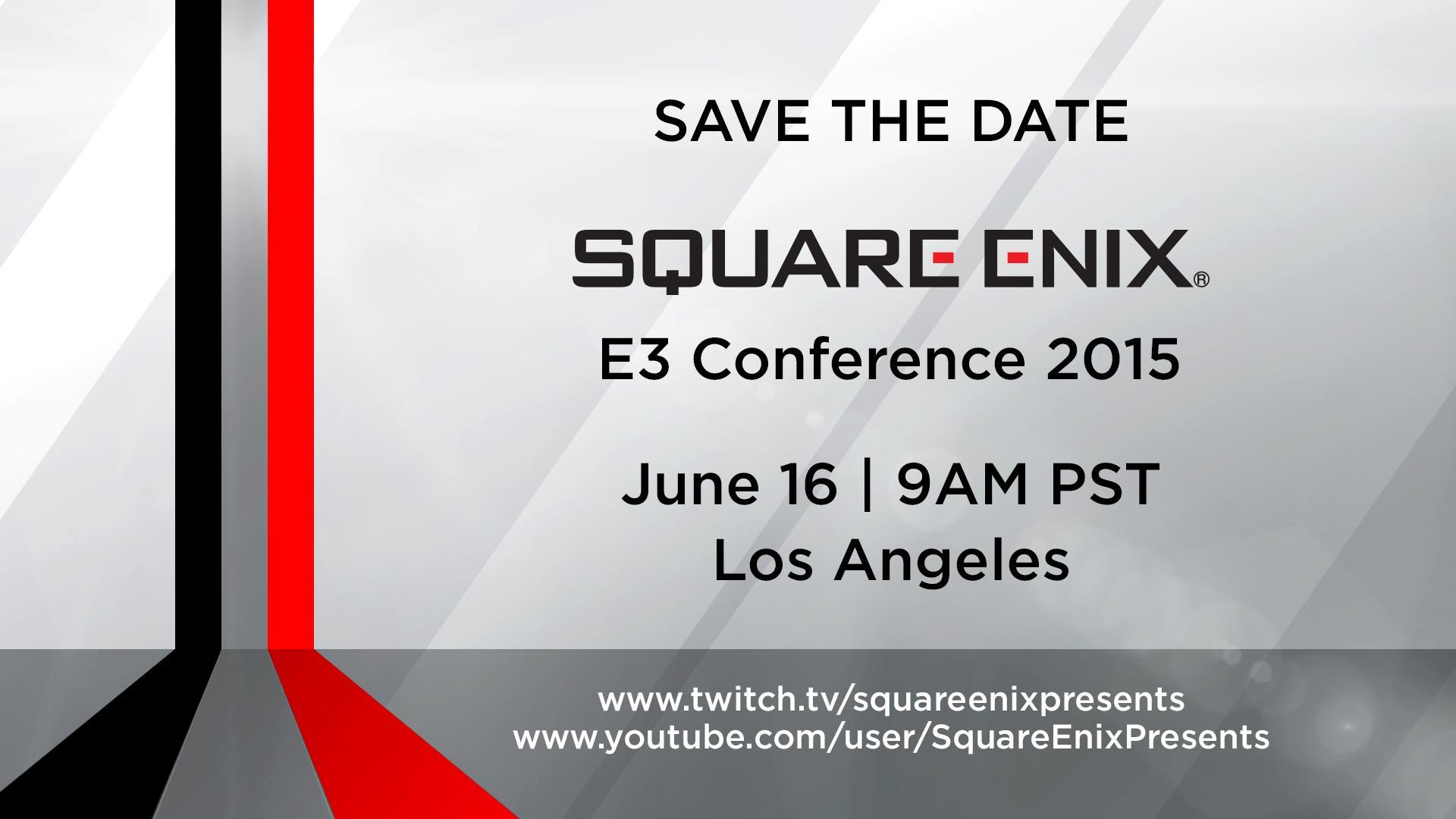 Square Enix bude mít tiskovou konferenci na E3 108373