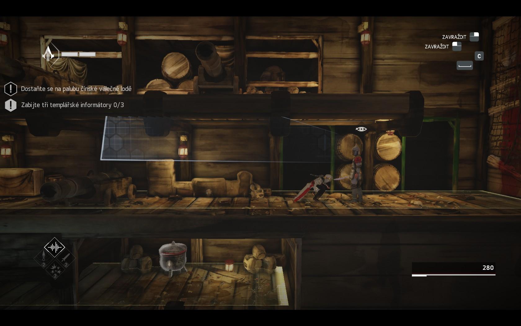 Assassin's Creed Chronicles: China - s čepelí v botě a vraždou na svědomí 108380
