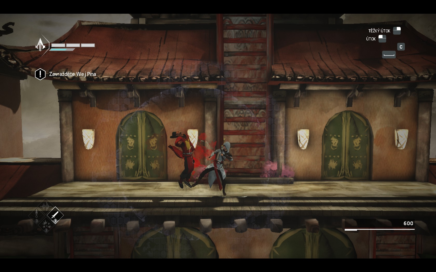Assassin's Creed Chronicles: China - s čepelí v botě a vraždou na svědomí 108382