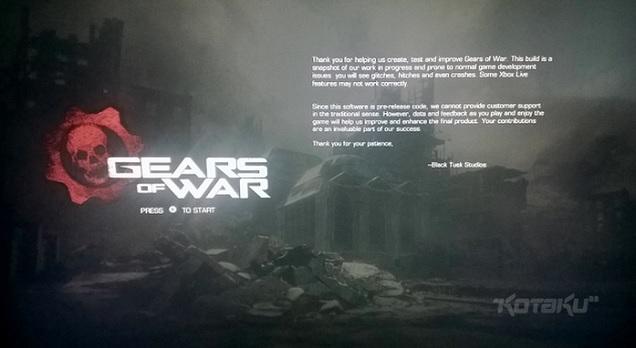 Remake Gears of War se začíná rýsovat 108417