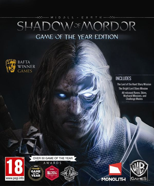 Příští týden vyjde Game of the Year edice Shadow of Mordor 108551