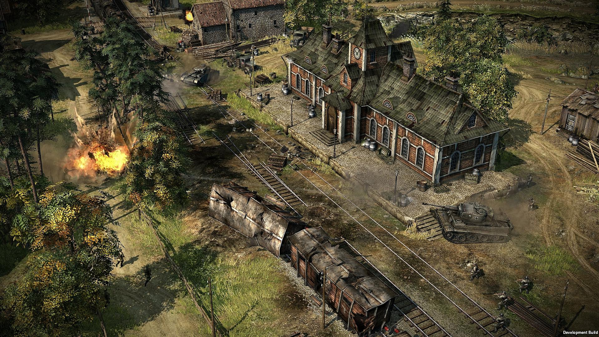 Strategie Blitzkrieg 3 na Steamu v Early Access 108632