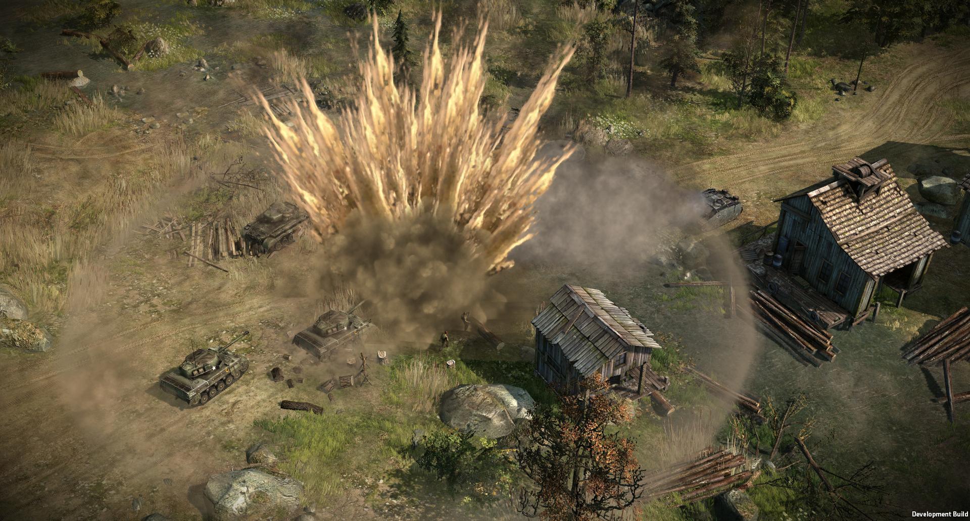 Strategie Blitzkrieg 3 na Steamu v Early Access 108635