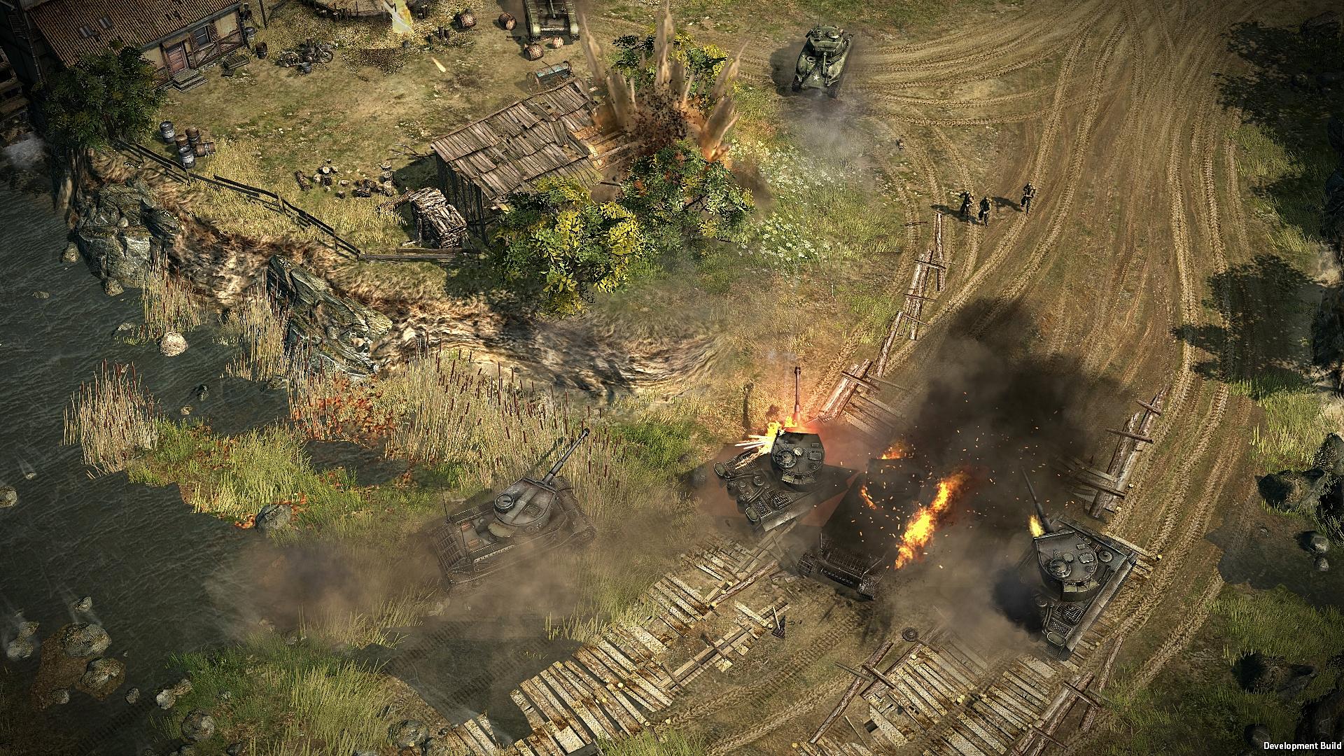 Strategie Blitzkrieg 3 na Steamu v Early Access 108639