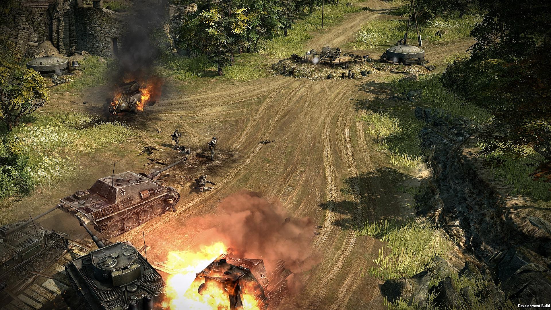 Strategie Blitzkrieg 3 na Steamu v Early Access 108640