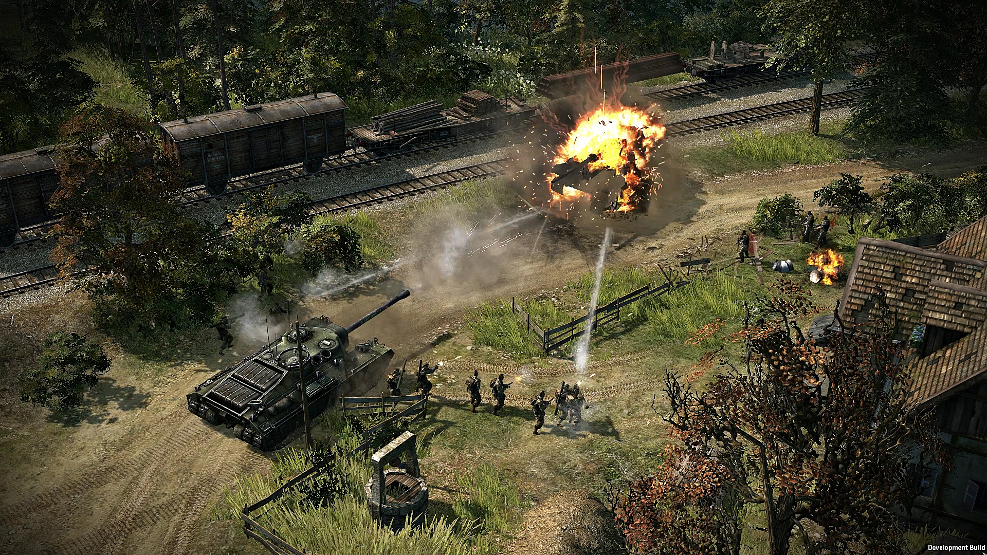 Strategie Blitzkrieg 3 na Steamu v Early Access 108642