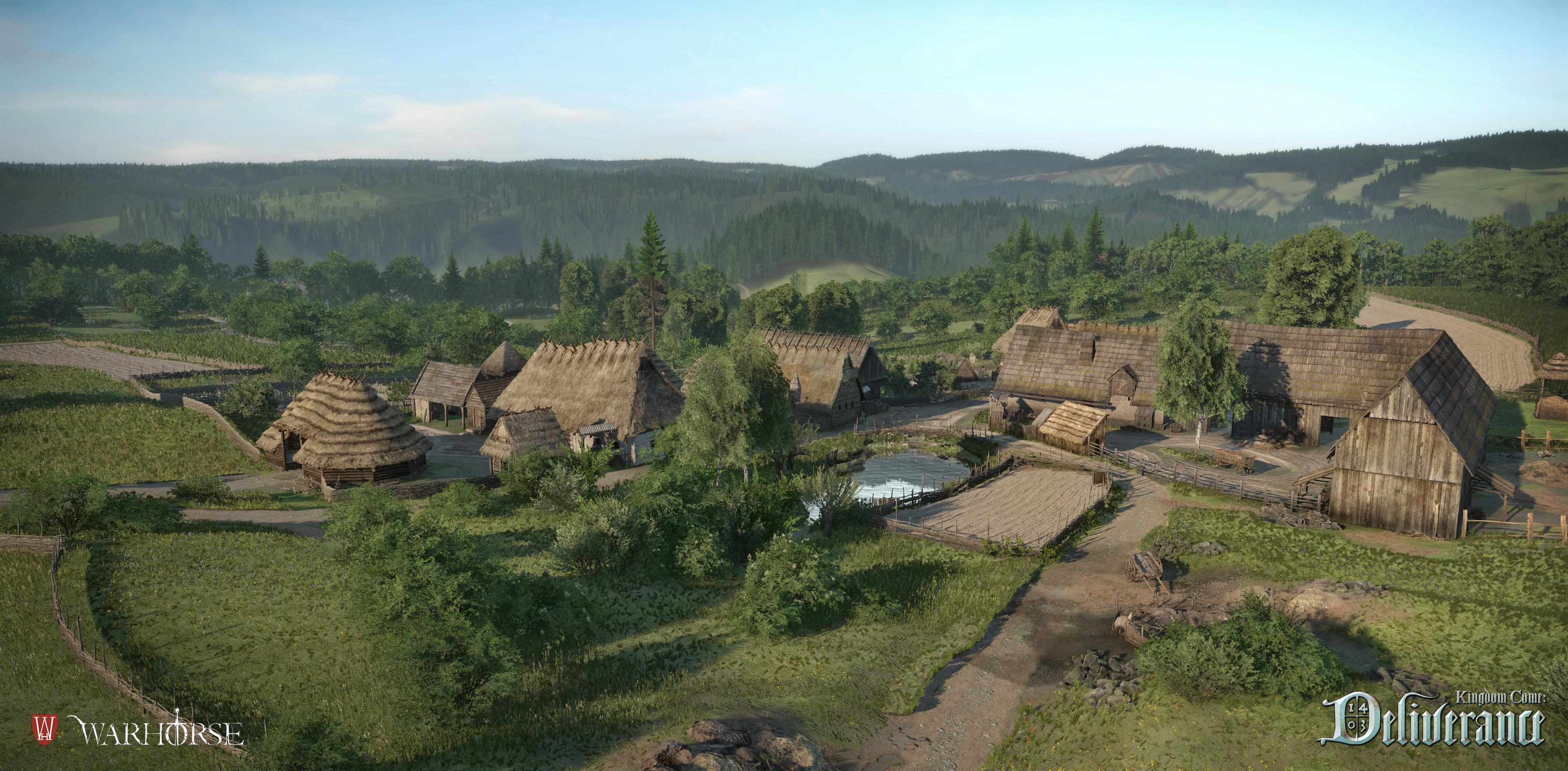 Obrazem: Les, lom a vesnice z Kingdom Come: Deliverance 108649