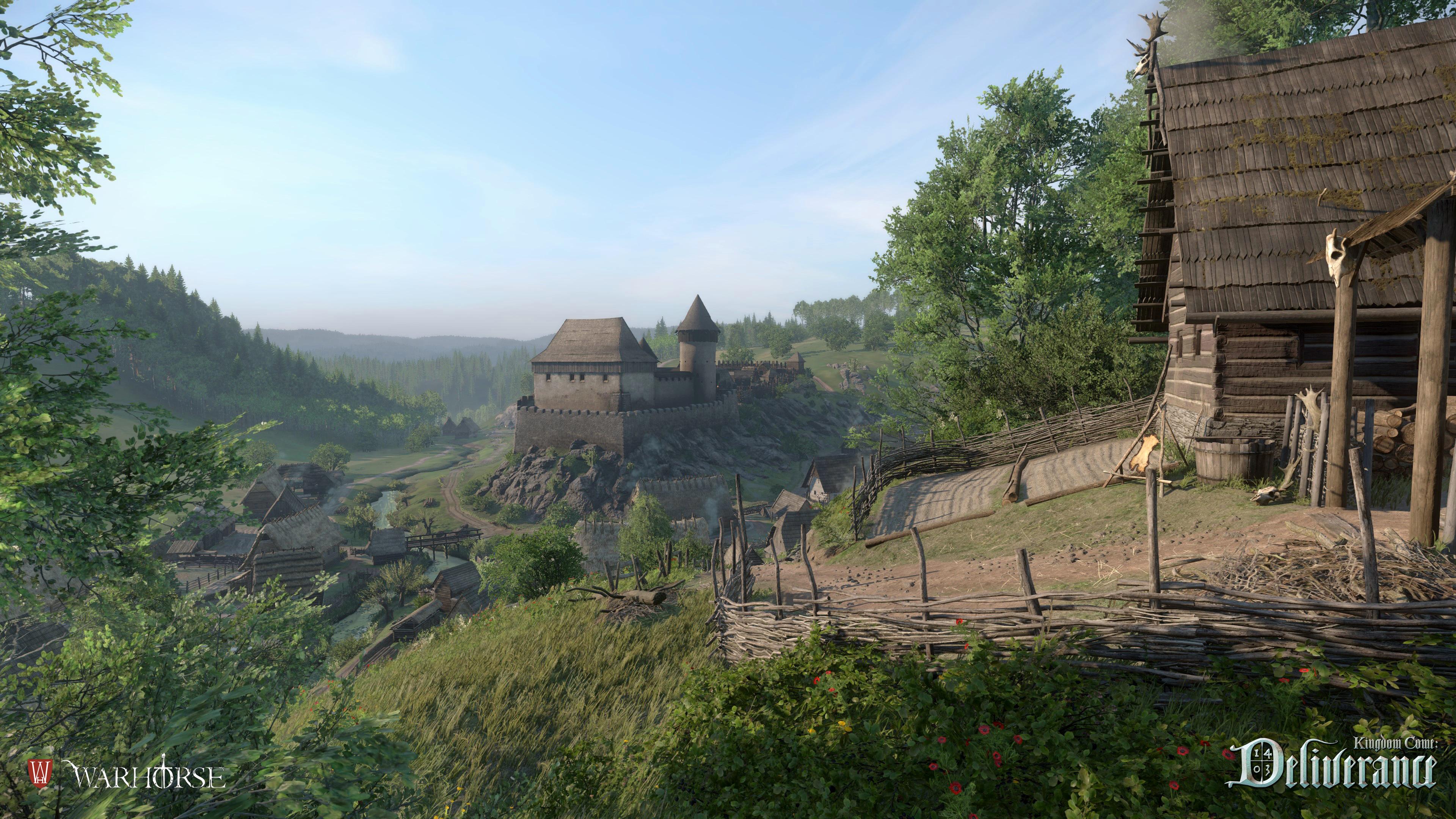 Obrazem: Les, lom a vesnice z Kingdom Come: Deliverance 108651
