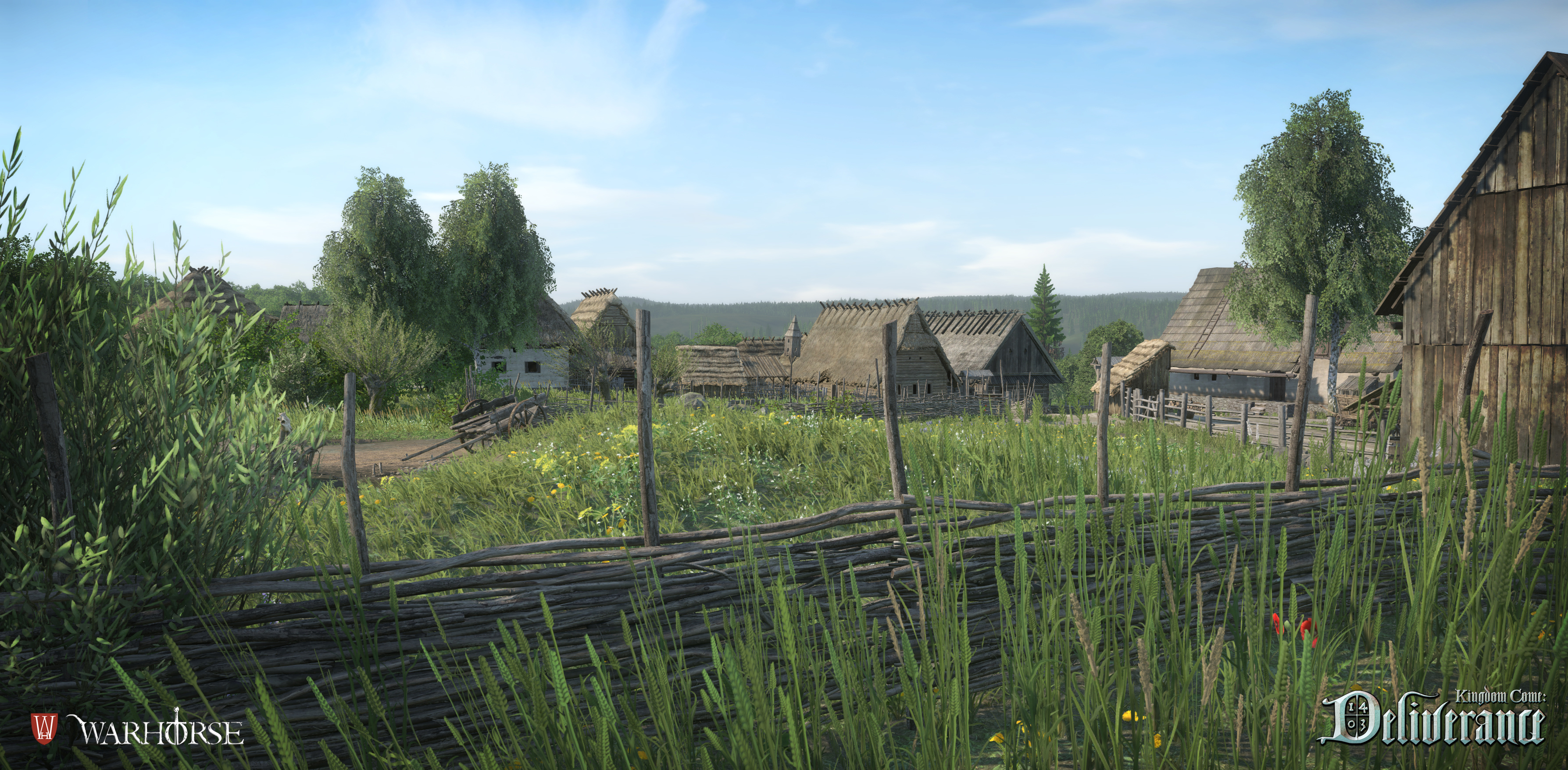 Obrazem: Les, lom a vesnice z Kingdom Come: Deliverance 108652