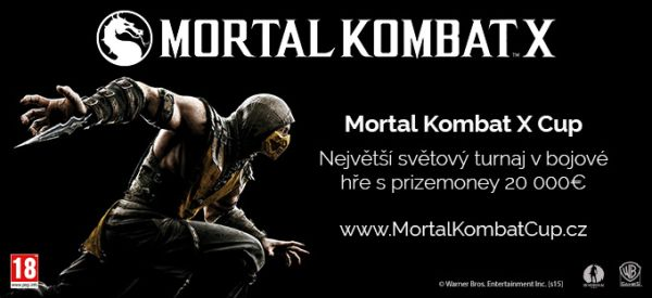 Mortal Kombat X Cup se těší obrovskému zájmu, registrace stále otevřené 108709