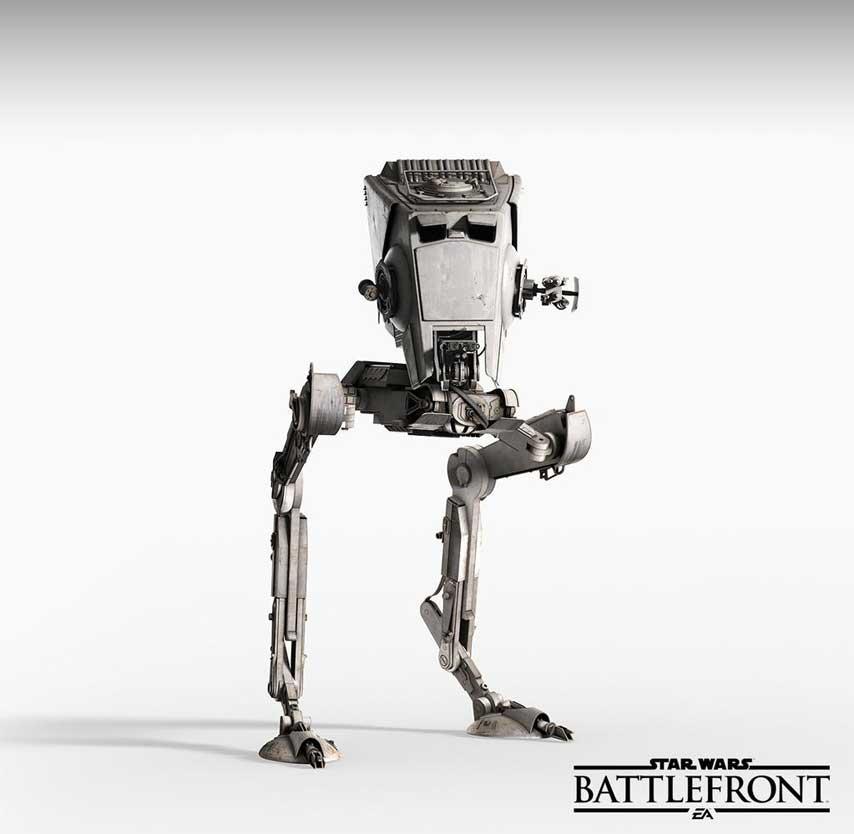 Dvounohé AT-ST bude ve Star Wars: Battlefront hratelné 108726