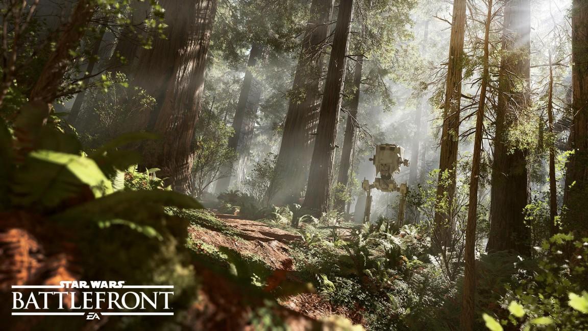 Dvounohé AT-ST bude ve Star Wars: Battlefront hratelné 108810