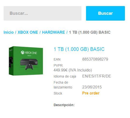 Připravuje Microsoft nový model Xbox One s terabajtovým diskem? 108854