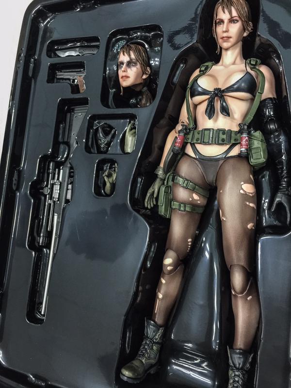 Detailní figurka Quiet z Metal Gear Solid zaujme 108859