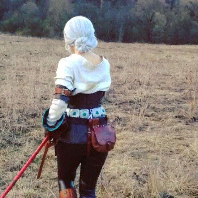 Vynikající cosplay Ciri ze Zaklínače od ruské krásky 108937
