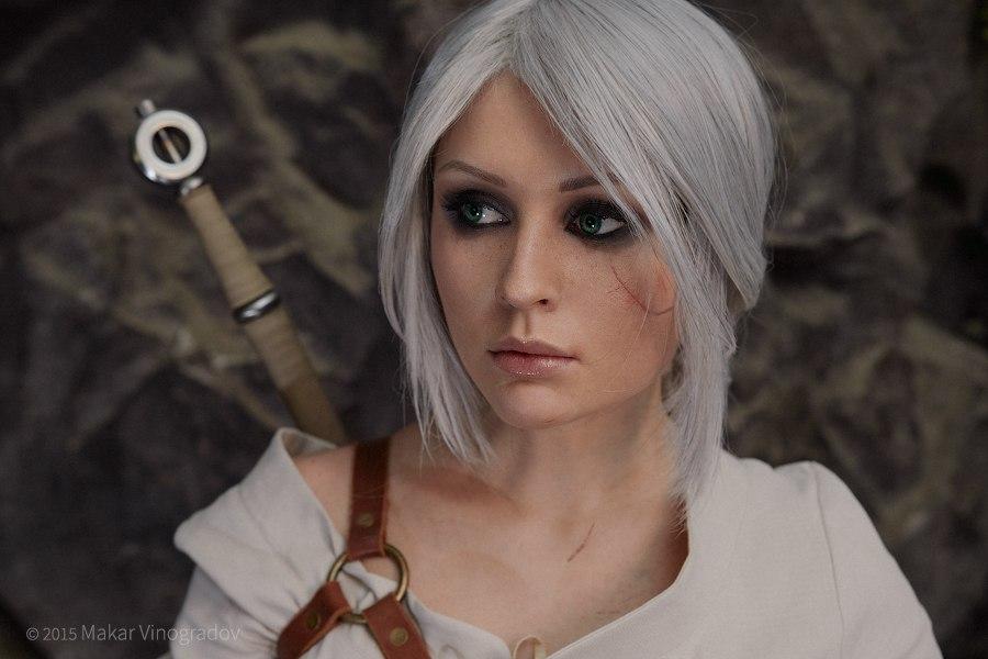 Vynikající cosplay Ciri ze Zaklínače od ruské krásky 108938