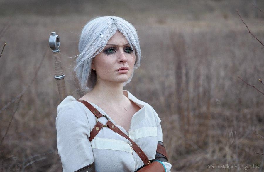 Vynikající cosplay Ciri ze Zaklínače od ruské krásky 108940