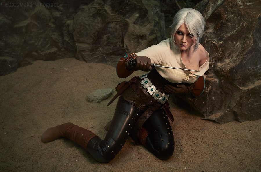 Vynikající cosplay Ciri ze Zaklínače od ruské krásky 108944