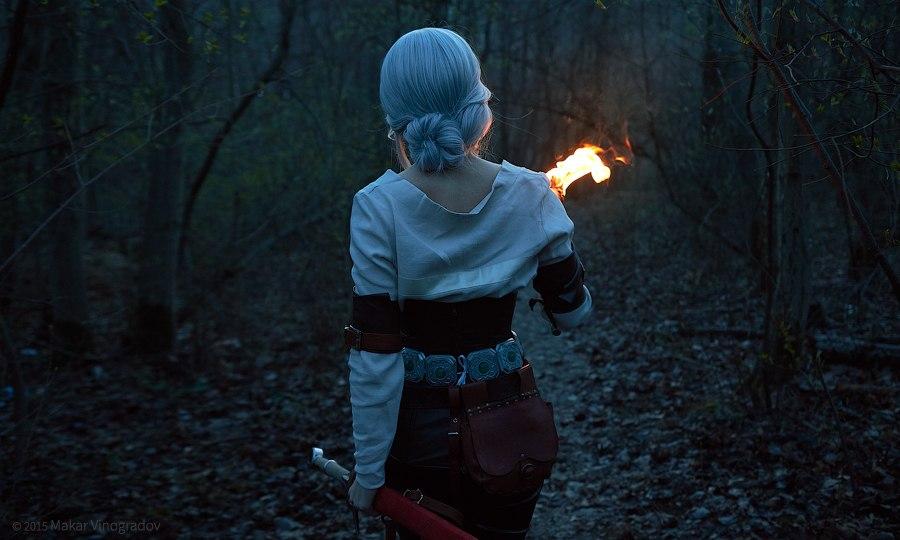 Vynikající cosplay Ciri ze Zaklínače od ruské krásky 108946
