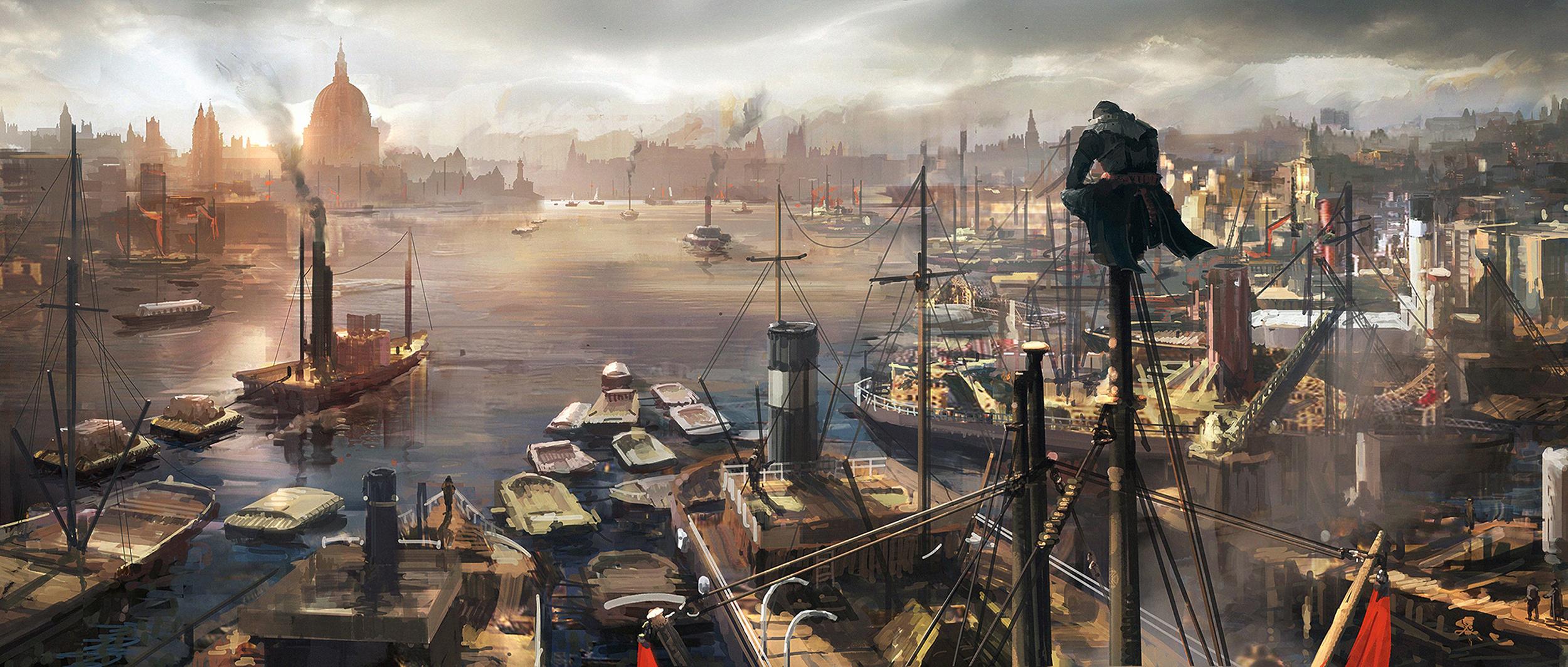 Dodatečné artworky z Assassin's Creed: Syndicate 108978