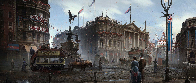 Dodatečné artworky z Assassin's Creed: Syndicate 108979