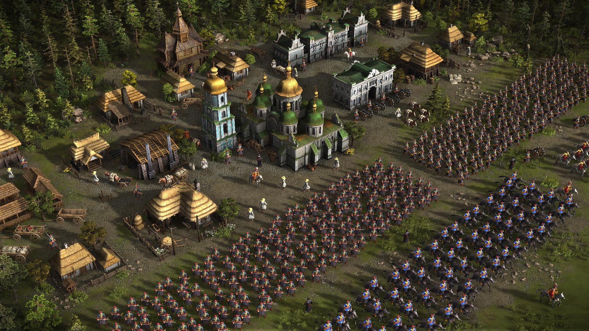 Tvůrci Stalkera pracují na remaku strategie Cossacks 109124