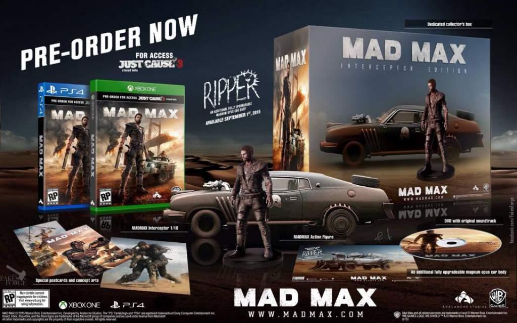 Sběratelská edice Mad Maxe s figurkou hlavního hrdiny i ikonického vozu? 109163