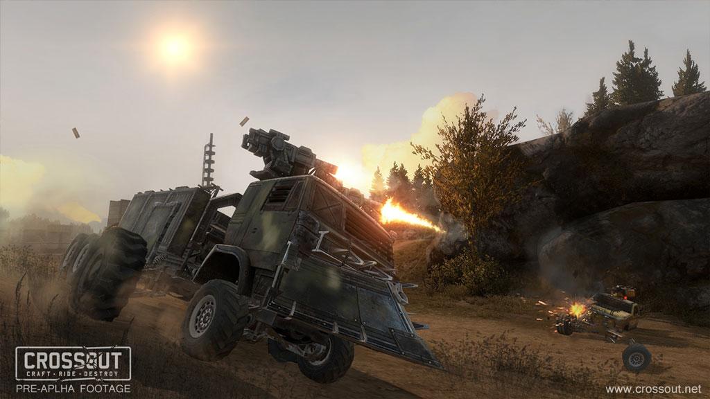 Post-apokalyptické bitvy ve vozidlech od tvůrců War Thunder 109190