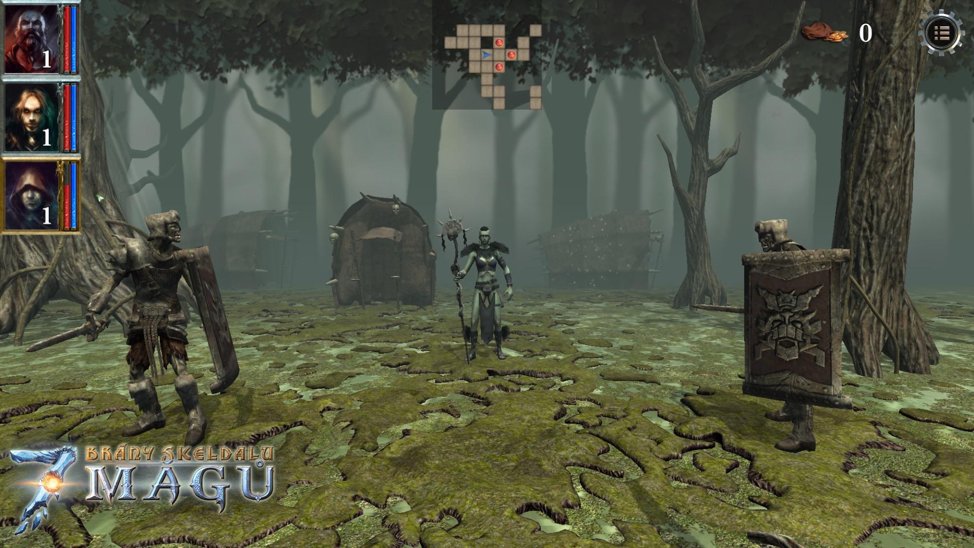 Brány Skeldalu 3: Sedm mágů v prvním gameplay videu 109265