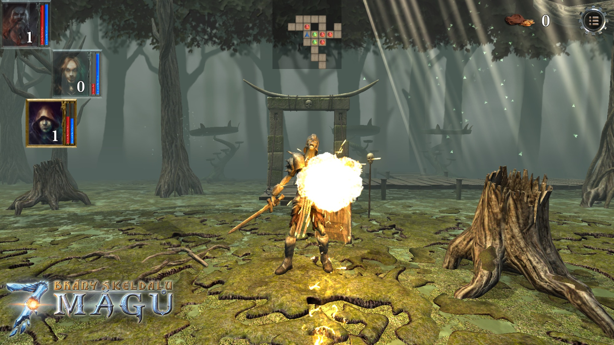 Brány Skeldalu 3: Sedm mágů v prvním gameplay videu 109266