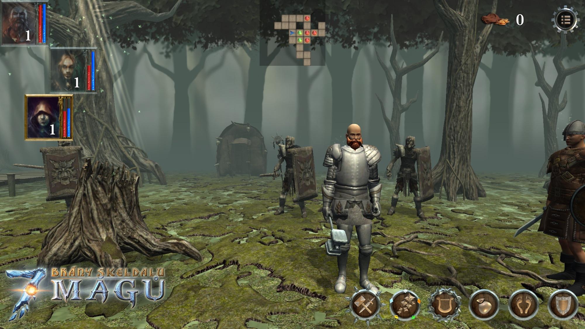 Brány Skeldalu 3: Sedm mágů v prvním gameplay videu 109267
