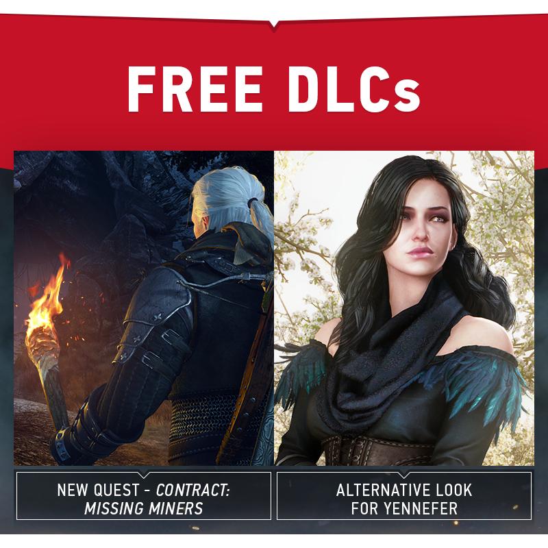 Dnes vyšla další dvě bezplatná DLC pro Zaklínače 3 109305