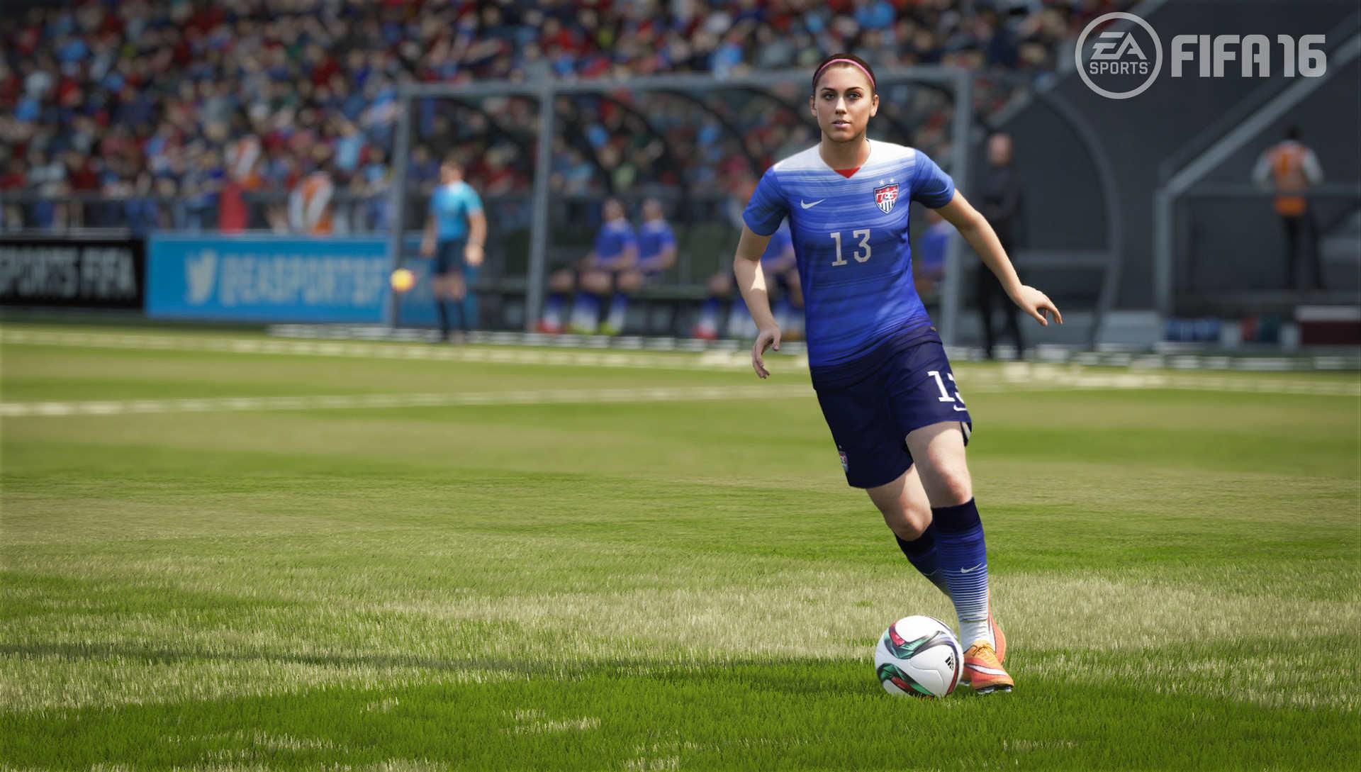Novinkou ve FIFA 16 budou ženské národní týmy 109335