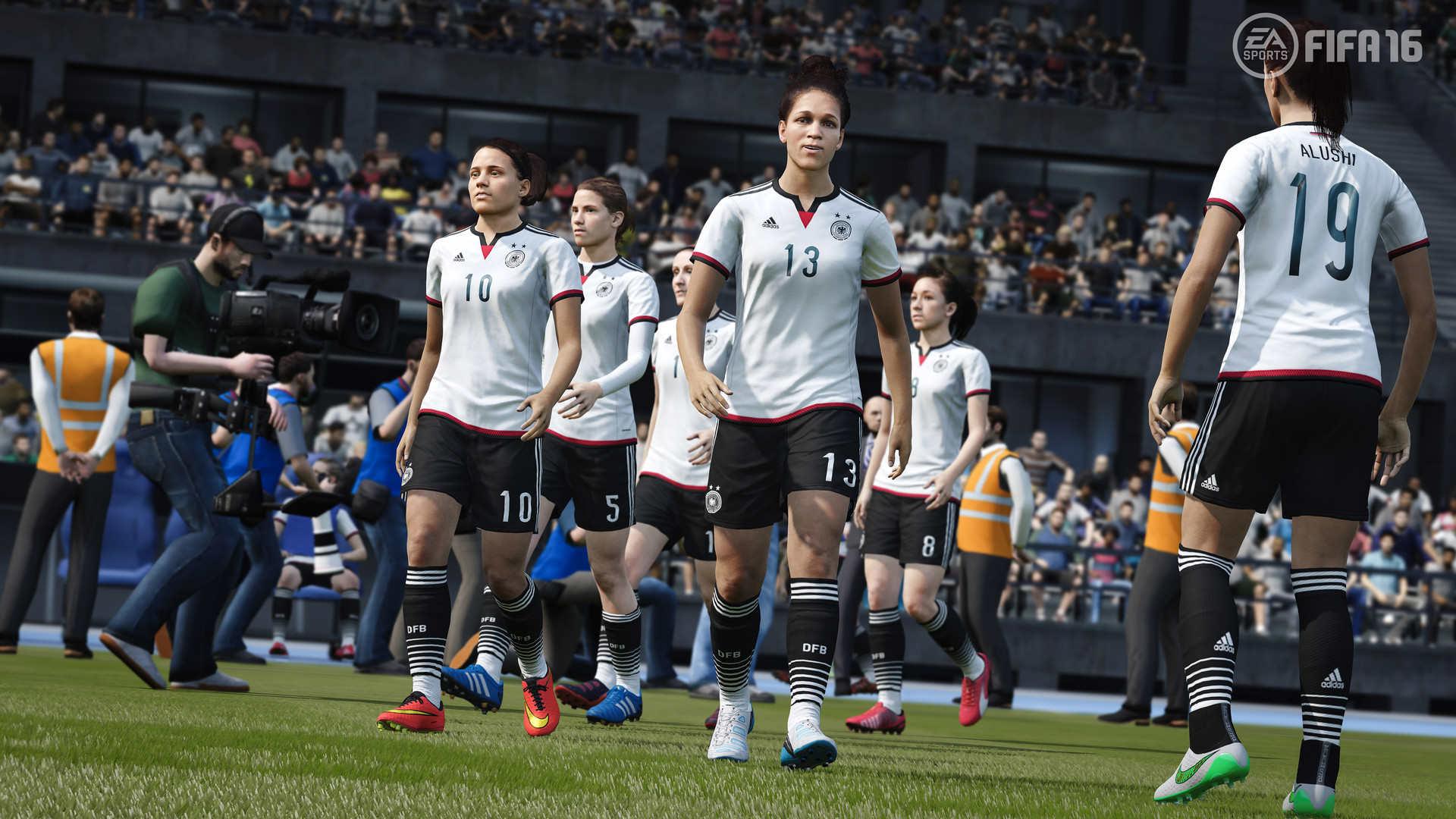 Novinkou ve FIFA 16 budou ženské národní týmy 109338