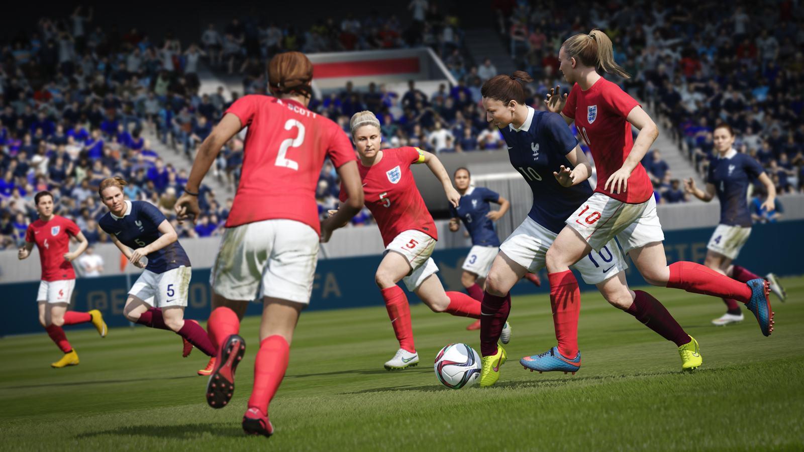 Novinkou ve FIFA 16 budou ženské národní týmy 109340