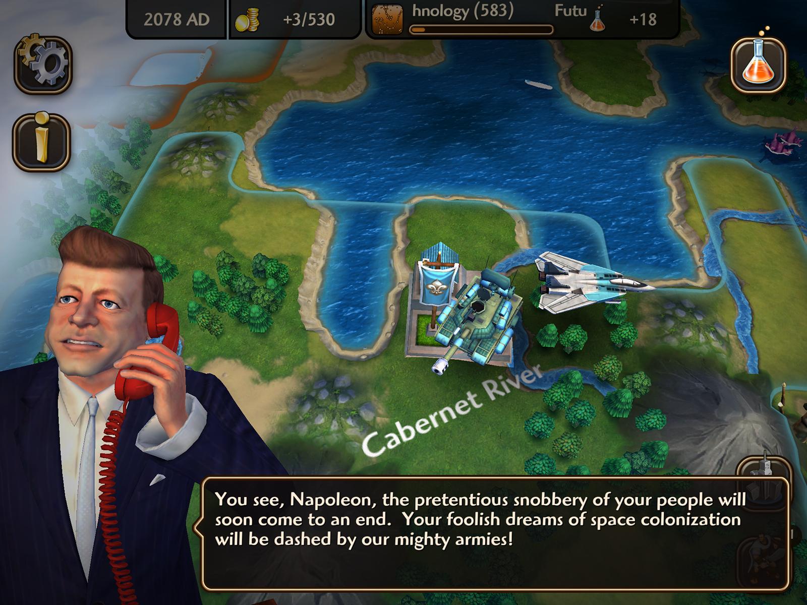 Mobilní hra Civilization Revolution 2 má mířit na PS Vita 109373