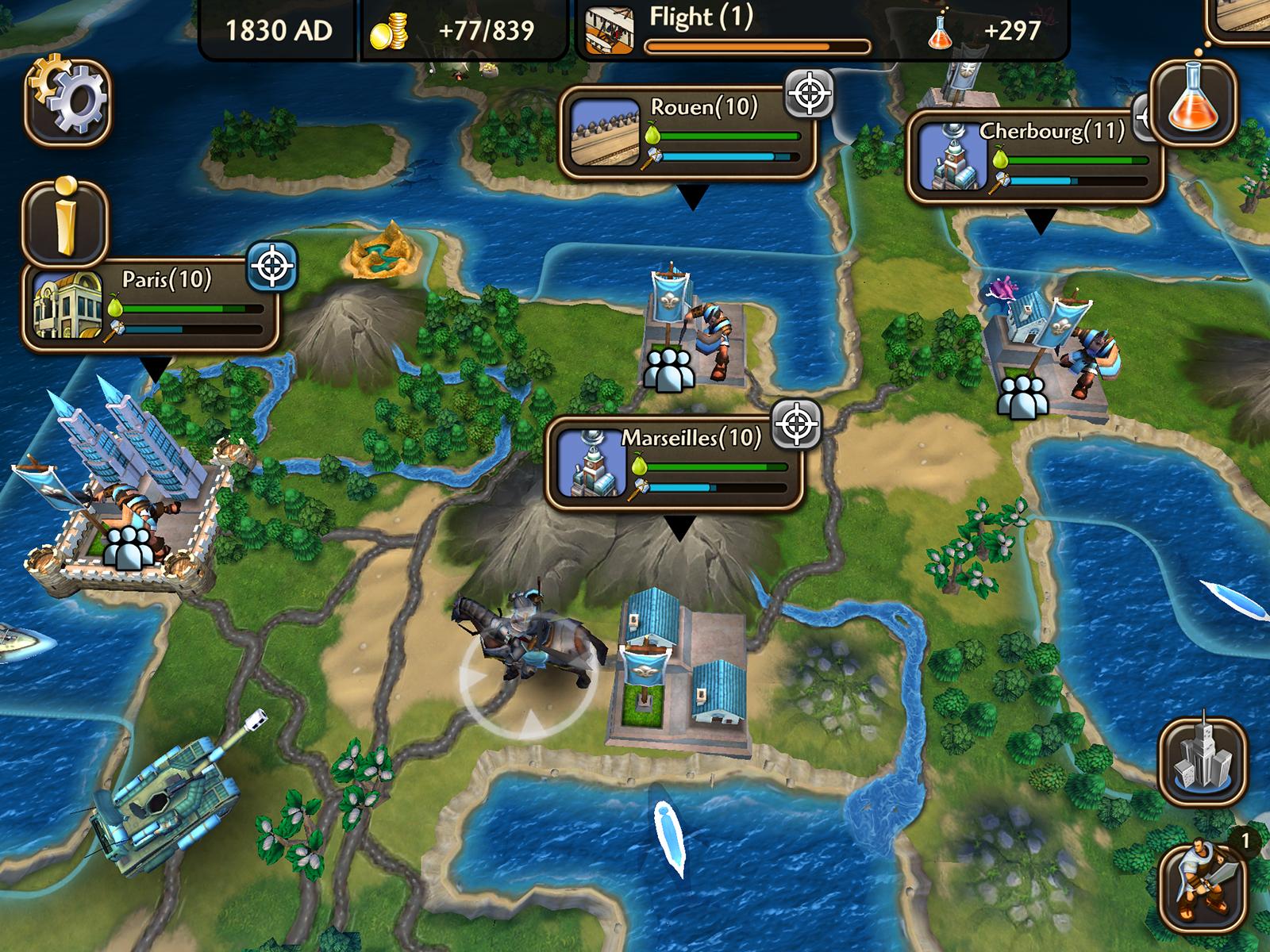 Mobilní hra Civilization Revolution 2 má mířit na PS Vita 109375