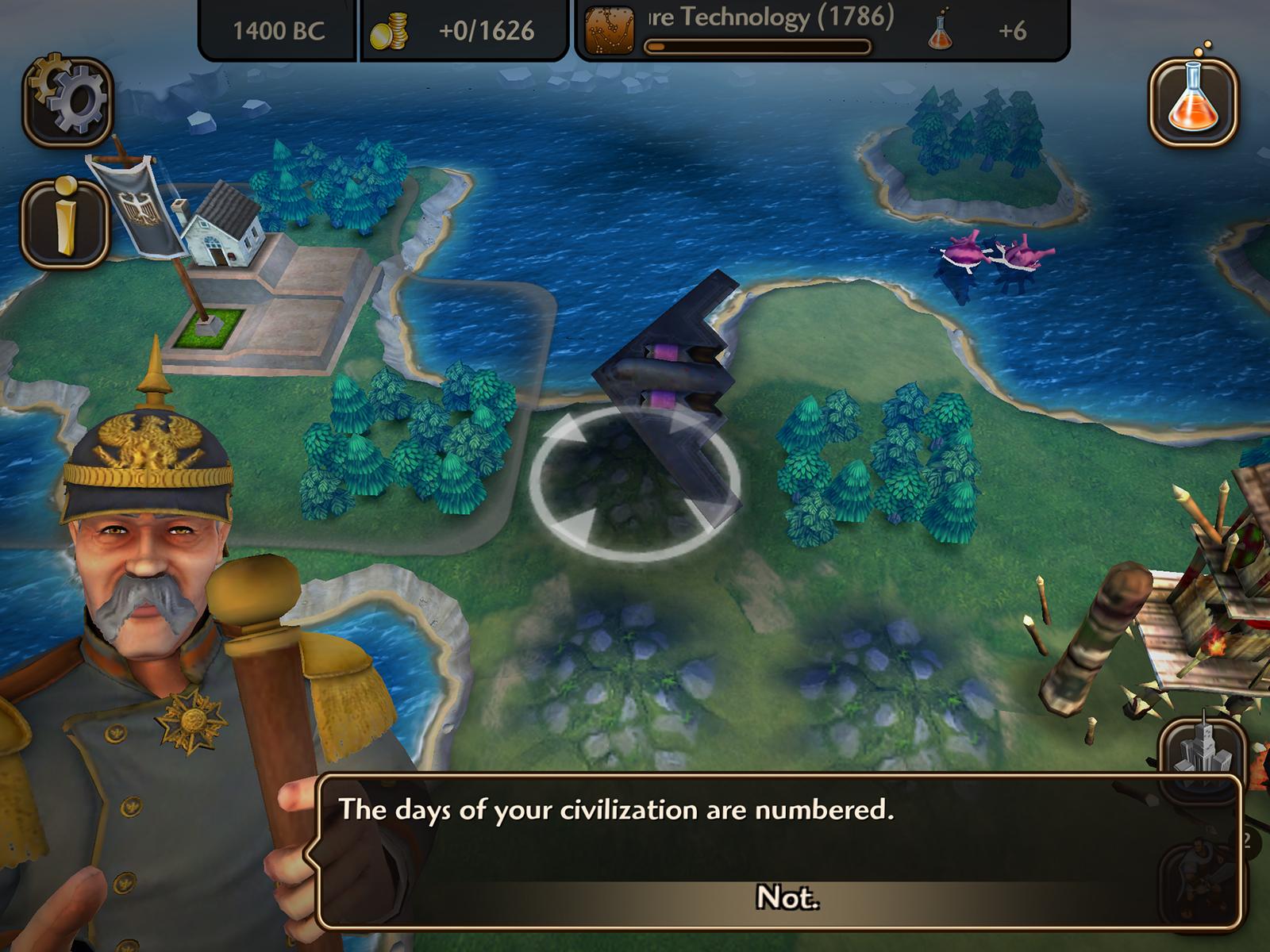 Mobilní hra Civilization Revolution 2 má mířit na PS Vita 109378