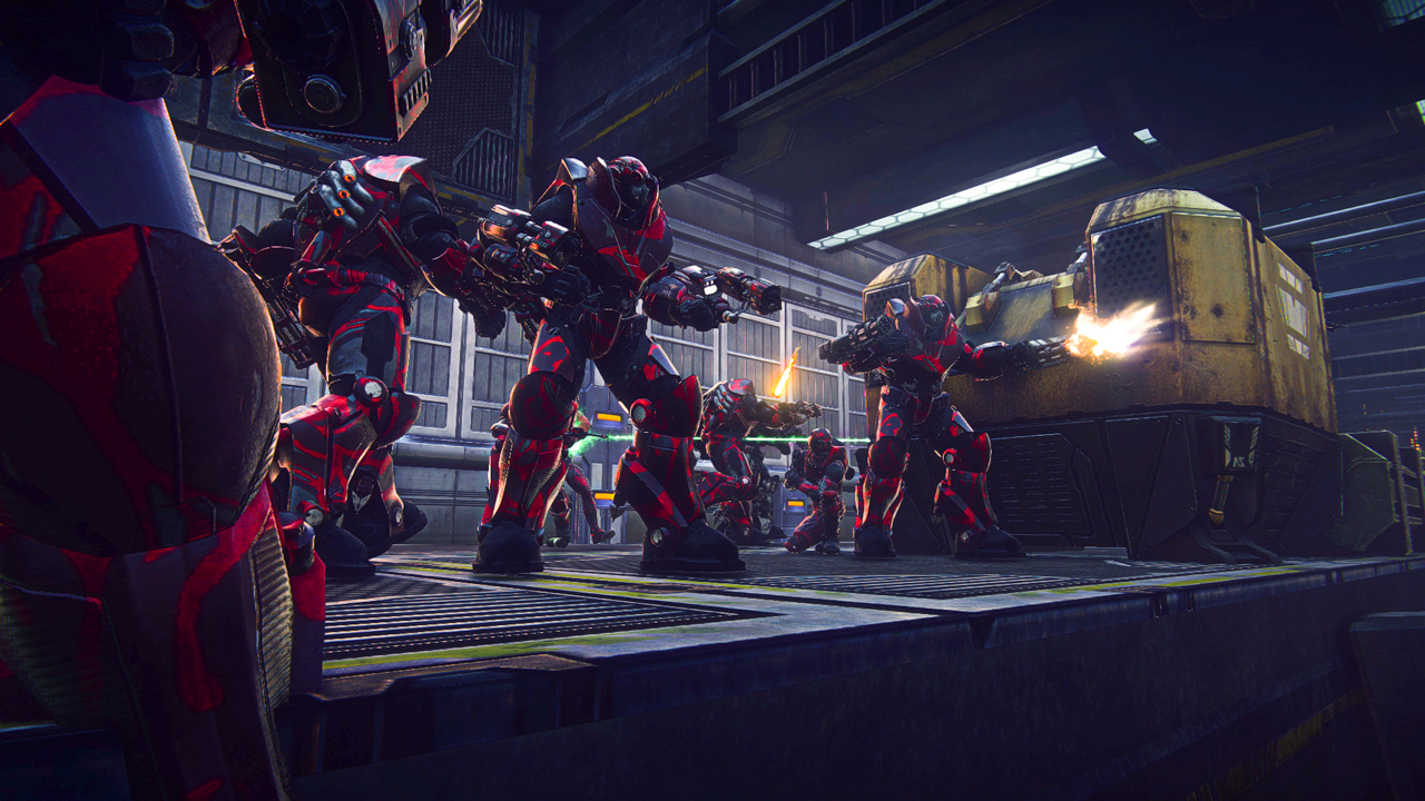 PlanetSide 2 rozpoutá bitvy na PS4 koncem měsíce 109582